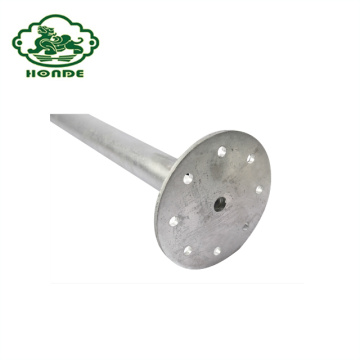 Wholesale No Dig Ground Screw Pole Anchor