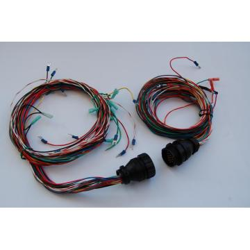 Off road light wiring harness