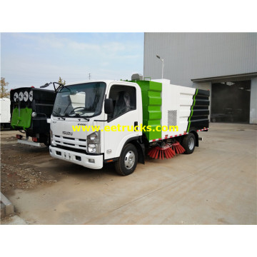 ISUZU 5m3 Broom Sweeper Vehicles