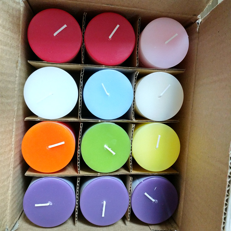 Color Pillar Candle