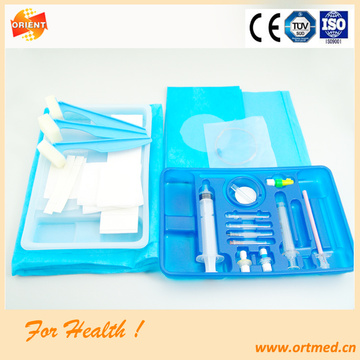 Good Quality Spinal-Epidural anesthesia tray for hospital