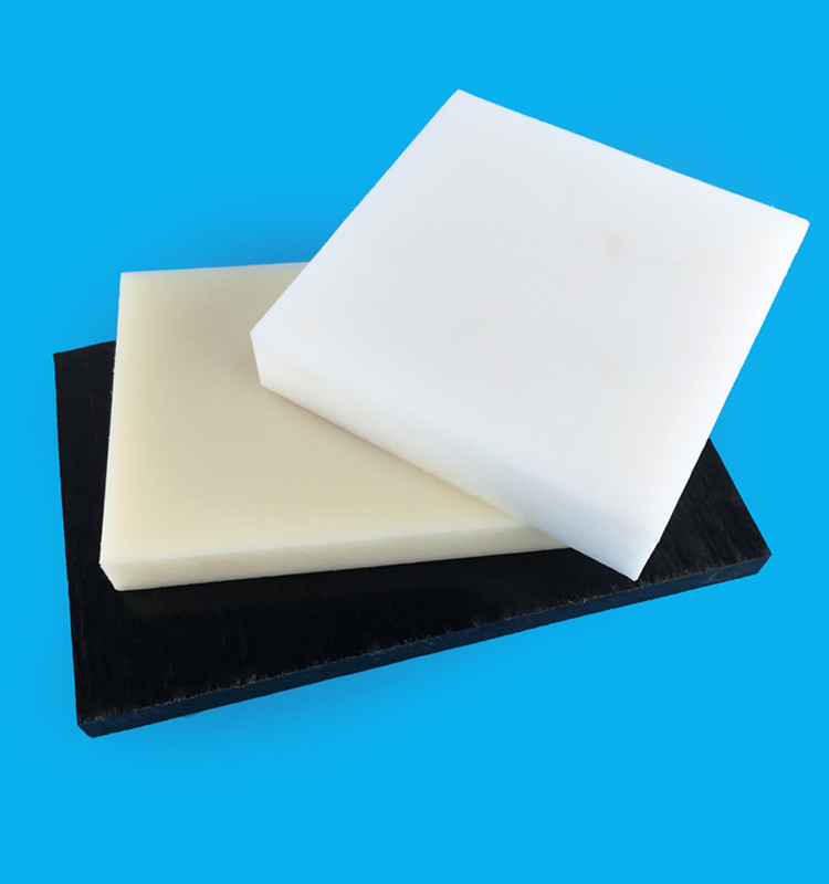 Black / White Pom Acetal Plastic Sheet