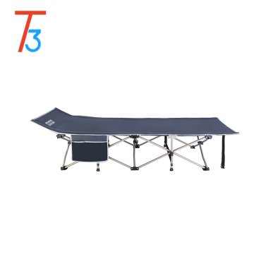 Outdoor Portable Military Folding Camping Bed Cot Sleeping Hiking Travel Folding Iron Bed