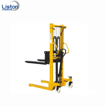 1.5 ton Straddle Hydraulic Hand Lift Manual Stacker