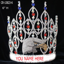 Wholesale Bird Eagle Rhinestone Pageant Crown