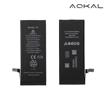 Customized Supplier for Battery Pack For iPhone 6S Brandnew iPhone 6S Replacement Li-ion Battery supply to United States Wholesale
