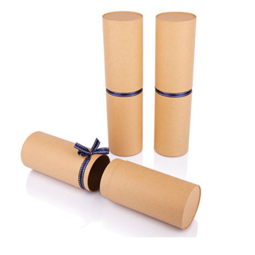 Wholesale custom paper tube packaging for bottles