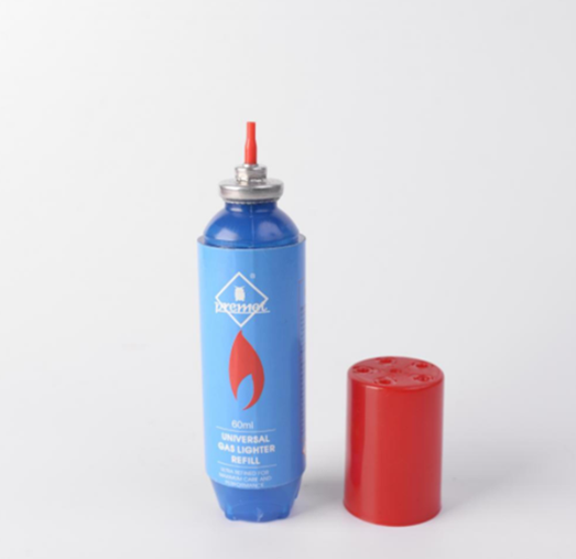 60ML Butane Gas Refill with Plastic Botlle