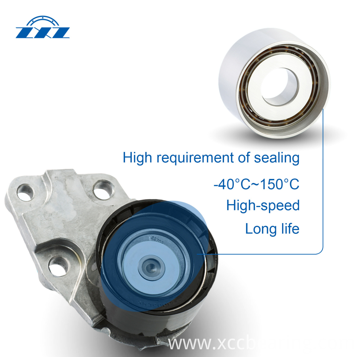Tensioner bearing performance