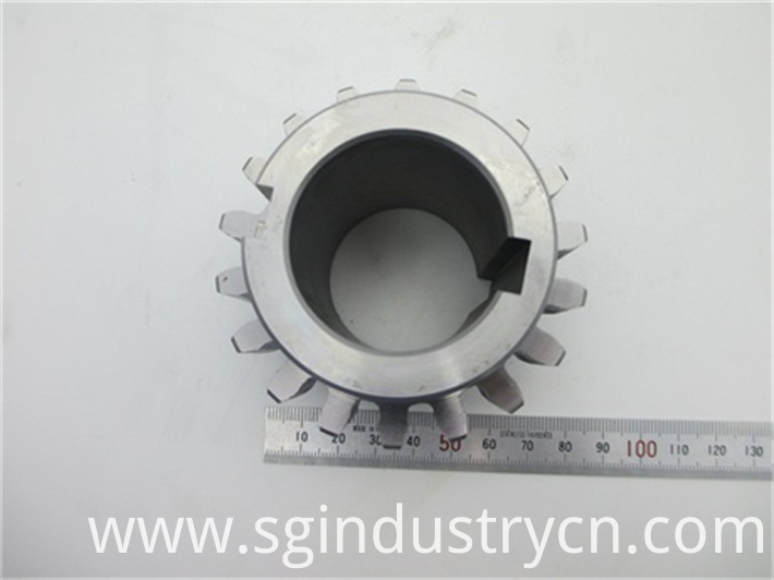Customized Metal Gear Cutting Part