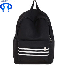 Custom reflective strip double shoulder backpack
