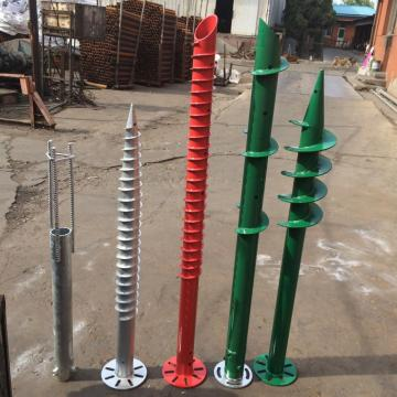 Solar Construction Ground Screws