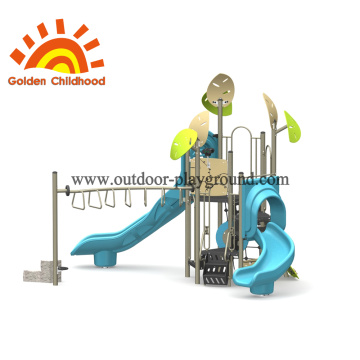 Toddler Natural Outdoor Playground Equipment For Children