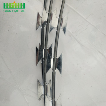 High Quality Galvanized Welded Razor Wire Mesh Fence
