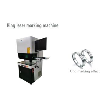 Gold Silver Fiber Laser Marking Machine
