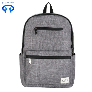 New nylon backpack USB rechargeable travel bag