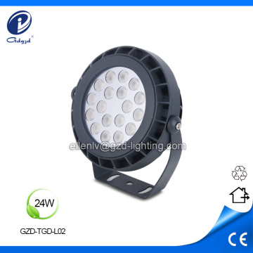 Garden lighting 24W outdoor led projector luminaire