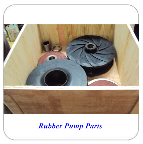 wet end rubber parts