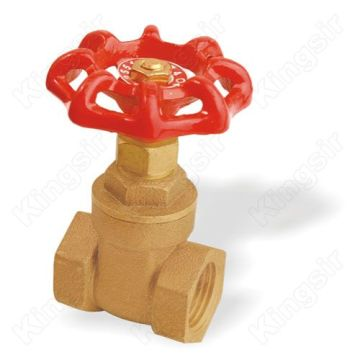 chrysanthemum handle Brass Gate Valves