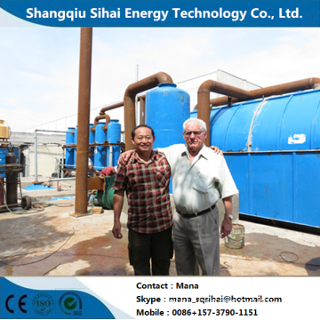 Pyrolysis Equipment for Used Tires with Heating Method