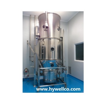 Customized for Food Granule Drying Machine Pharmaceutical Powder Fluid Bed Dryer supply to Eritrea Importers