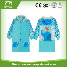 High Quality Polyester Print Waterproof Kids Rain Suit