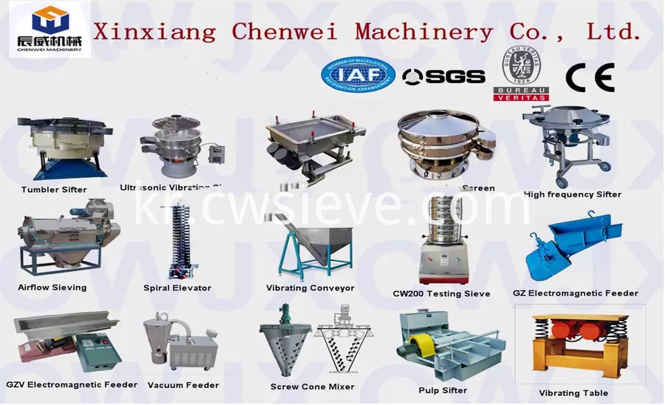 Gyratory Sifter for Chemical Industry