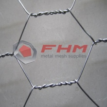 Chicken Wire Mesh Made from Galvanized Wire