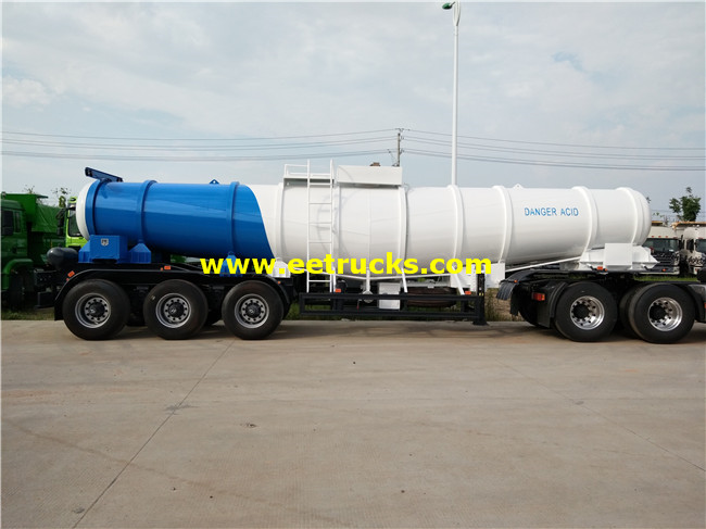 H2so4 Delivery Tanker Trailer