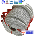 8 strands polypropylene and polyester mixed for Mooring