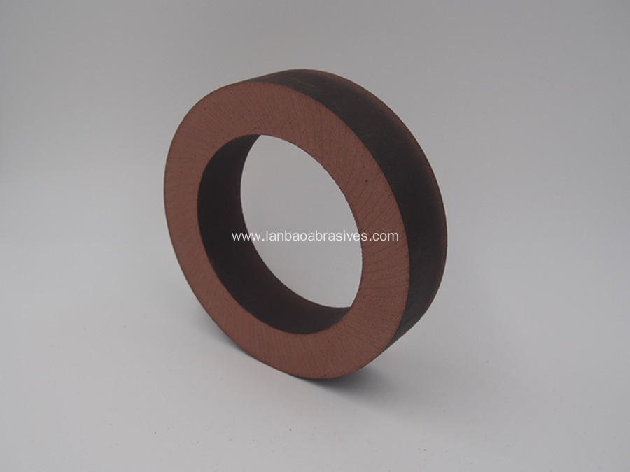 Flat shape BD polishing wheel with customized base