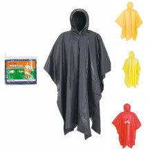 Wholesales Fashion Pvc Waterproof  Reusable Rain Poncho
