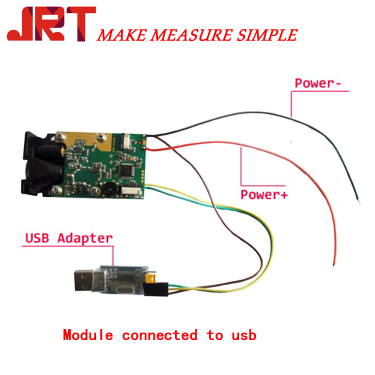 Laser Measure Module Wire Connection