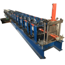 Metal roofing water gutter making machine