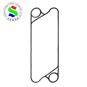 Heat exchanger gasket for water chiller system