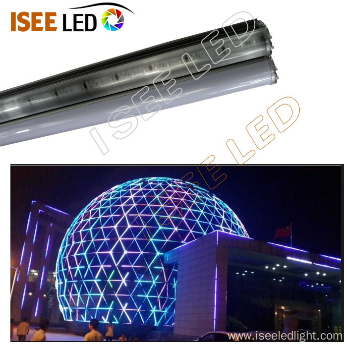 DMX512 Outdoor Building Outline Decoration LED Tube
