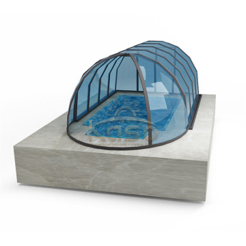 Retractable Swimming Pool Cover With Remote Control