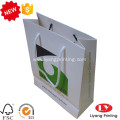 Hot customized paper packaging bag with handle