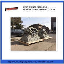 concrete pump wear parts Putzmeister hopper assy