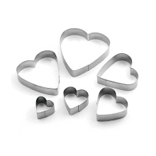 Special for Cookie Cutter stainless steel cookie mold 6pcs supply to Netherlands Wholesale