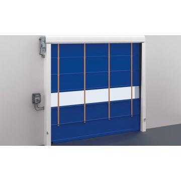 CE Approved stacking folding up fast action door