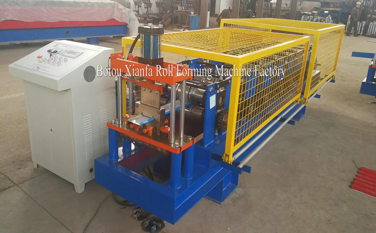 building material forming machine