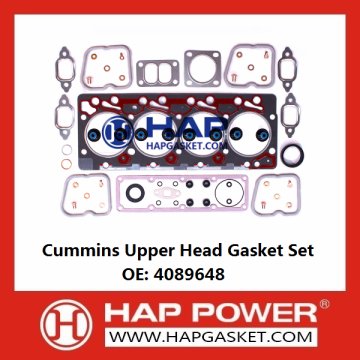 Cummins Upper Head Gasket Set 4089648