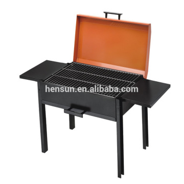 Portable Barbecue Charcoal Grill Table Grill Rack