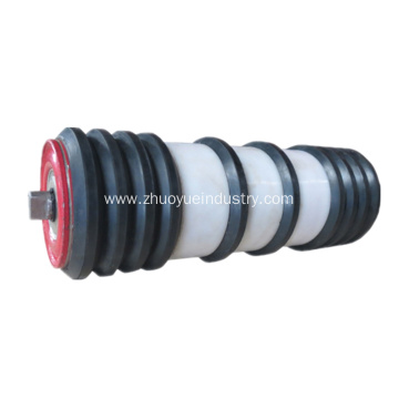 Industrial Types Rubber Disc Return Conveyor Rollers