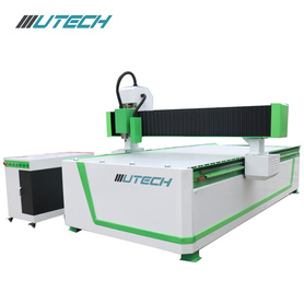 cnc wood carving machine with visual positioning
