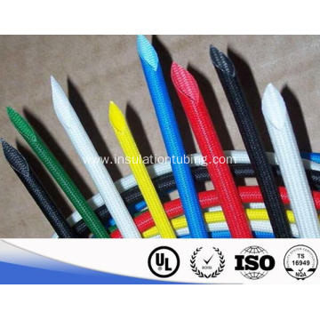 Silicone Rubber Coated Braided Fiberglass Pipe Sleeve