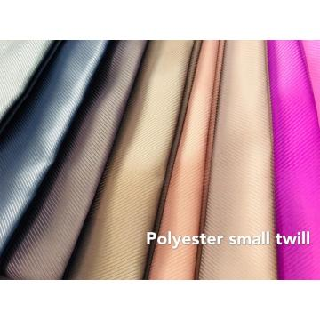 100% Polyster Microfiber Small Twill Dyed