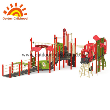 Metal Kids outdoor attration playground equipment