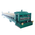 Low cost steel galvanized double glazed roll forming machine